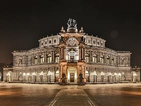 Hotels, Appartements, Hostels, Pensionen - Semperoper