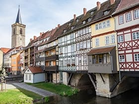 Hotels, Appartements, Hostels, Pensionen - Krämerbrücke