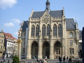 Hotels, Appartements, Hostels, Pensionen - Rathaus Erfurt