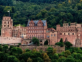 Hotels, Appartements, Hostels, Pensionen - Heidelberger Schloss