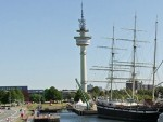 Hotels, Appartements, Hostels, Pensionen - Richtfunkturm Bremerhaven